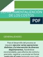 5. DEPARTAMENTALIZACIÓN DE LOS COSTOS