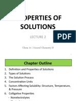 Ch 2 - Properties of Mixtures