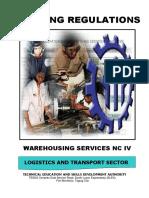Warehousing Services NC IV