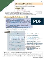 IGCSE Math Quadratics
