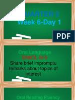 ENGLISH 6 Q2 WEEK 6 DAY 1
