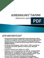 kinesiology taping PL