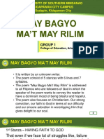 May Bagyo mat May Lilim