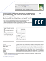 A hydrologicaleconomic model for sustainable groundwater use in sparse-data drylands Application to the A