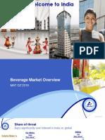India Beverage Landscape MAT Q2'2019-V1
