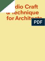 Studio Craft & Technique for Architects_nodrm
