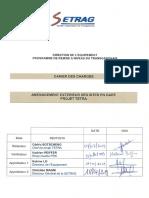 Cahier des Charges aménagement extérieure des sites en gare Projet-Tetra