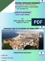 Dangote Refinery - Engr Babajide Soyode