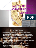 Safety of Bone Allografts Used in Dentistry (2)