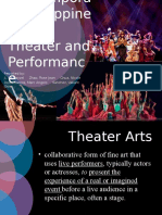 Contemporary Philippine Theater and Performance