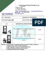 2020-3-7 price quotation