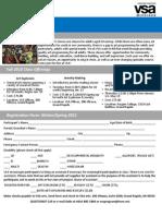 Registration Winter.spring 2011