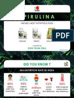 DXN TEAM DNA Spirulina