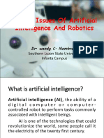 Ethical Issues of AI and Robotics