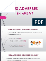 Adverbes en -Ment