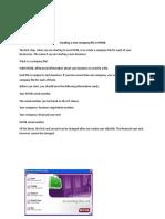 Procedure text (myob)