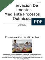 Aditivos tecnologia de conservacion