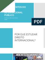 1.1 - Fundamentos de Direito Internacional Público - Julia Soares Amaral