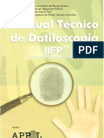 MANUAL TÉCNICO DE DATILOSCOPIA IIFP 2002