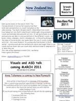 Autism Newsletter DecJanFeb 2011