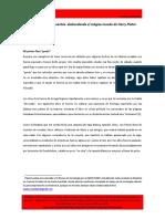 LIBROS, TÚNICAS Y VARITAS- CUESTAS