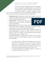 Fichamento - As limitações do método comparativo, Franz Boas.