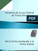Propuesta de Ley de Firma Electronic A Federal