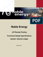 Noble Energy -  AR Receipt Posting Functional Design Template 2.0