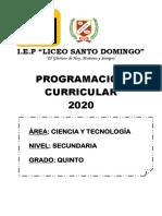 PROG.ANUAL -MODELO 2020