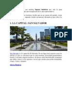 El Salvador Cuenta Con Muchos Lugares Turísticos Que Vale La Pena Visitar