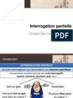 INTERROGATION-PARTIELLE Ficha Pedagogica