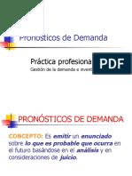 3. PRONOSTICOS DE DEMANDA