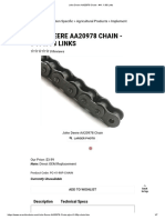John Deere AA20978 Chain - #41 X 98 Links