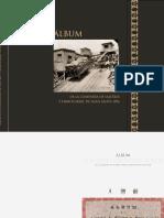 ÁLBUM DE LA COMPAÑÍA DE SALITRES Y FERROCARRIL DE AGUA SANTA 1896