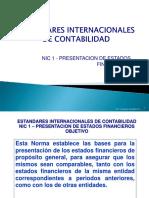 NIC 1 - ESTADOS FINANCIEROS