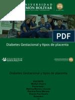 DIabetes gestacional tipos de placenta.pptx