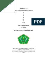 Niza makalah LEMBAGA PERBANKAN DI INDONESIA