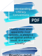 Understanding Conventions and Traditional Genres