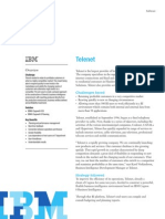 Telenet and IBM's Cognos 8 Business Intelligence and Cognos Planning