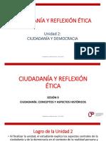 Sesión 9 _ Ciudadanía concepto e historia