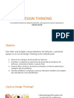 Design Thinking - Vision General