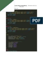 Archivos Principales para Theme de WordPress    Generales