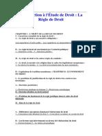 Introduction à L_etude de Droit