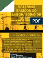 Materiais Básicos do Laboratório de Química