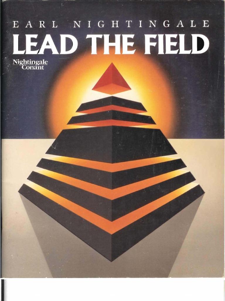 Lead the field earl nightingale attitude psychology fandeluxe Gallery