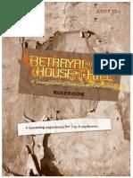Betrayal at House on the Hill - Pravila Na Engleskom