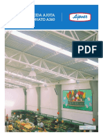 FICHA TECNICA cobertura Traslúcida Ajota Policarbonato A360