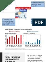 INDIA'S CURRENT EMPLOYMENT SCENARIO.pptx