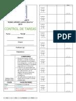 CONTROL DE TAREAS