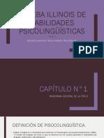 PRUEBA ILLINOIS DE HABILIDADES PSICOLINGÜÍSTICAS